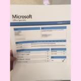 MOS Excel2016 合格おめでとうございます!